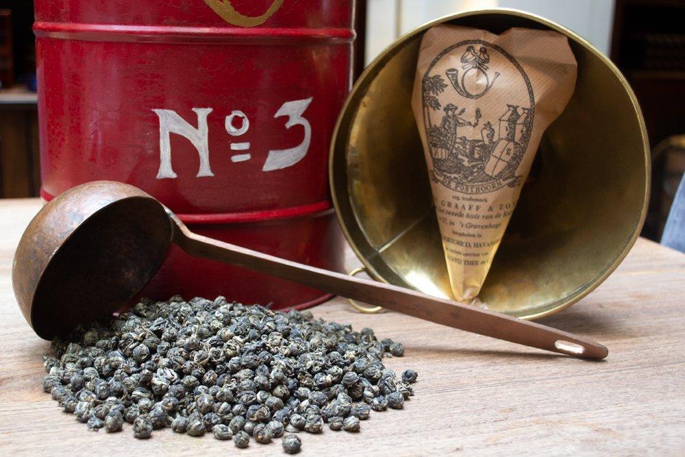 DE GRAAFF Tea White pearls with jasmine