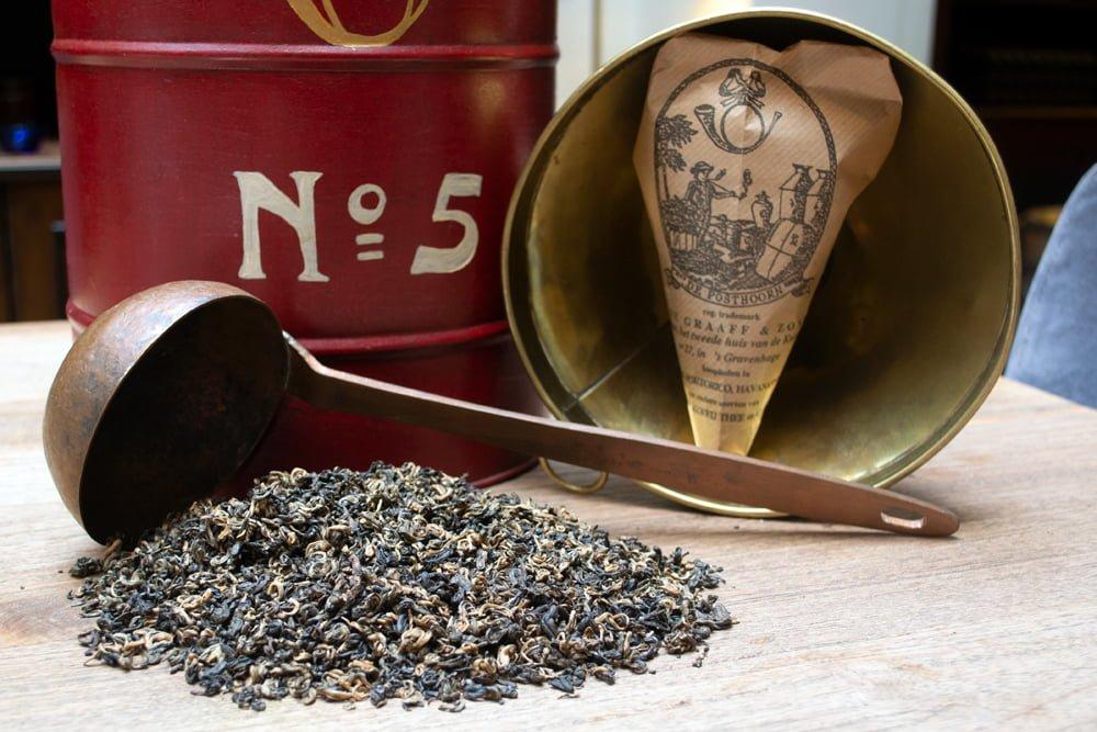 DE GRAAFF Tea Yunnan Golden Downy Pekoe
